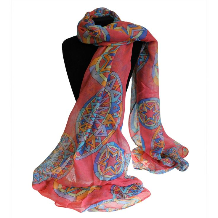Compass Pink Combo Scarves Wholesale - Hipangels.com  #Wholesale_Scarves_Pink_Stars #Scarves_Wholesale_Pink_love_Stars #Wholesale_Scarves_Light_Weight#Wholesale_Scarves_Posh