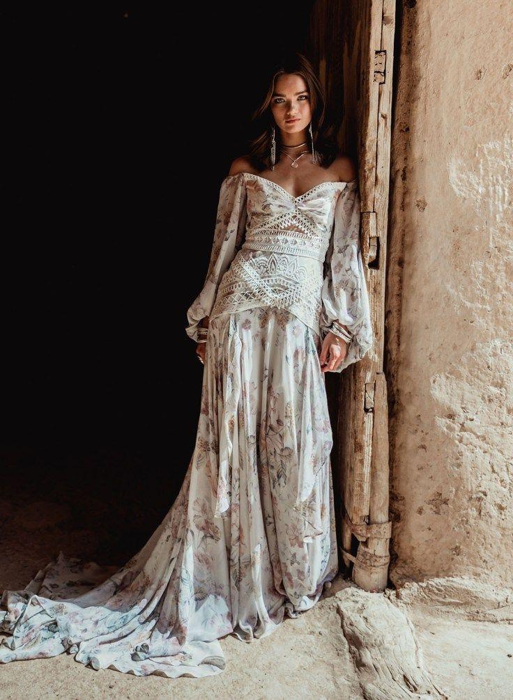 Robe mariee boheme 2019