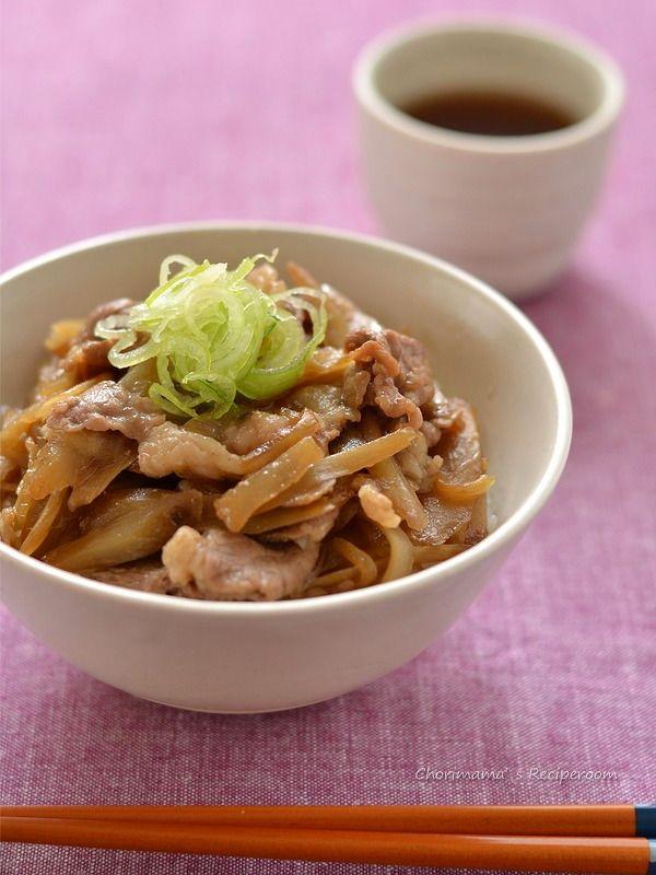 ごぼう牛丼 by ロマンスグレーガール | レシピサイト「Nadia | ナディア」プロの料理を無料で検索