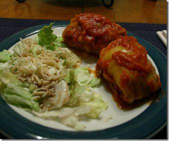 """The FeauxCajun Kitchen: Allons Manger! (""""Let's Eat!""""): Recipe: Cajun Cabbage Rolls"""