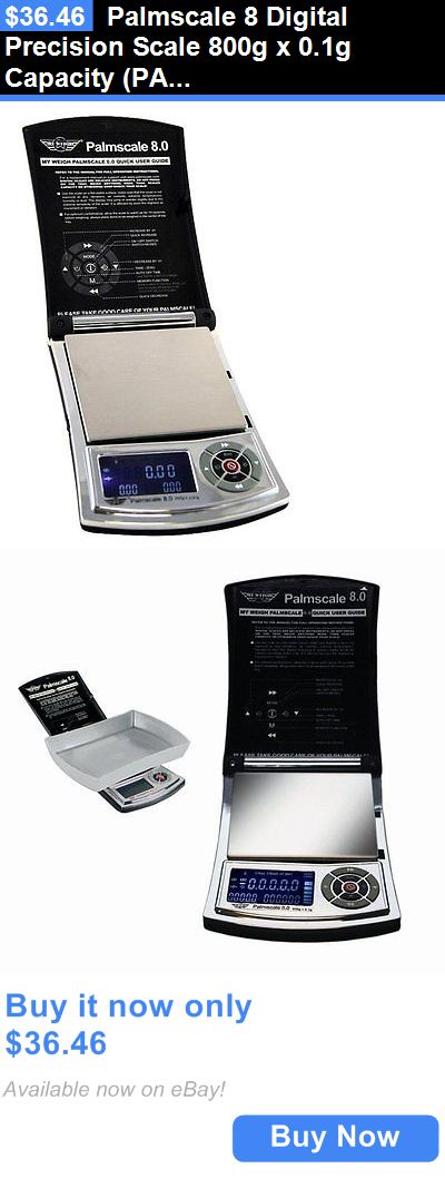Pocket Digital Scales: Palmscale 8 Digital Precision Scale 800G X 0.1G Capacity (Palmscale 8) New BUY IT NOW ONLY: $36.46