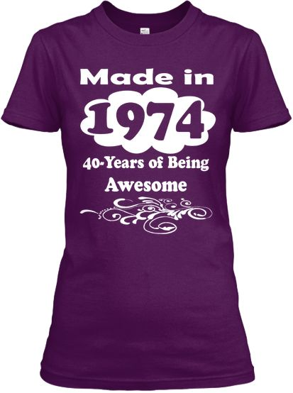 Awesome 1974 Limited Edition Tee
