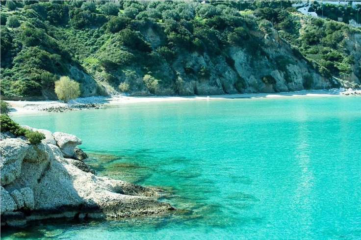 Voulisma Beach, Istron Lasithi Crete ~ Beach across the road from our apartment