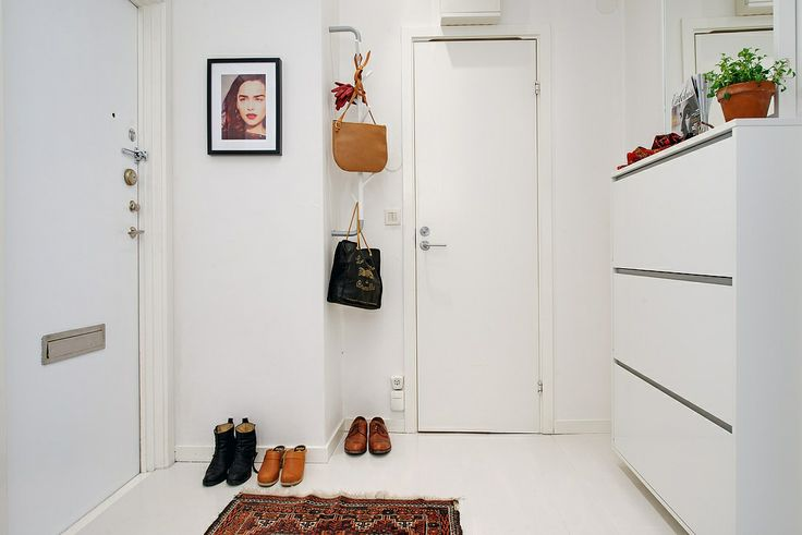 Coat rack on the wall