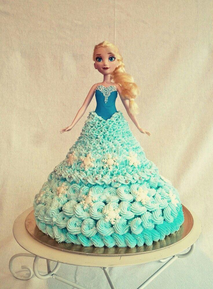 Elsa cake#frozen#foam#princess#
