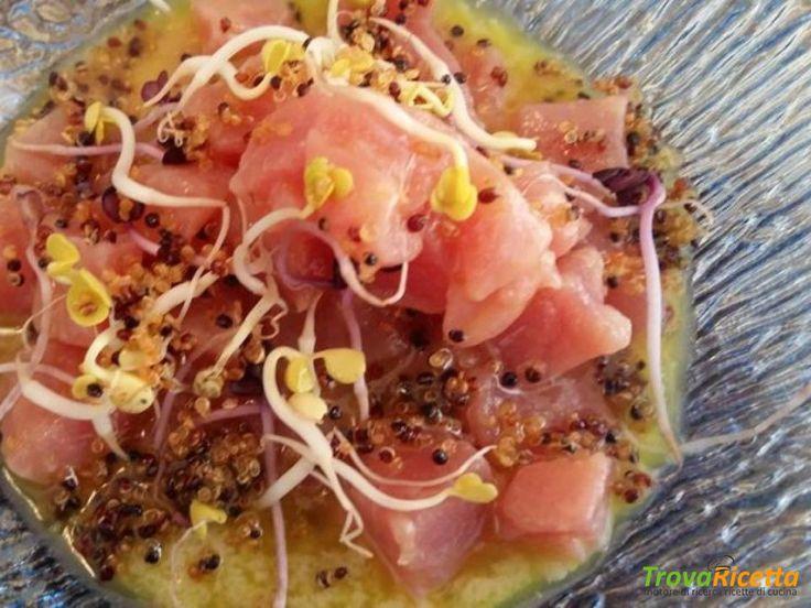 Ceviche di palamita: l'originale incontro tra cucina sarda e peruviana  #ricette #food #recipes