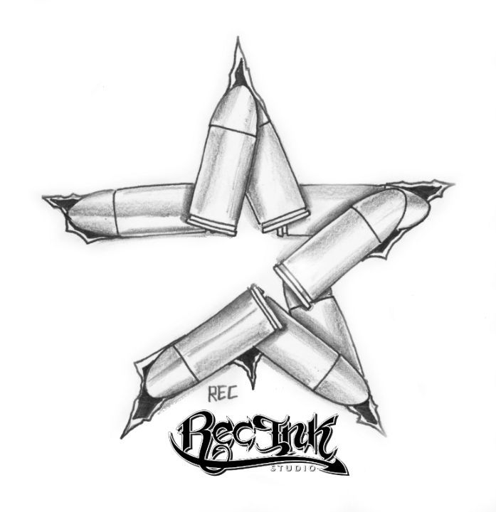 H town tattoo ,Astros Bullet Style by TXREC on deviantART