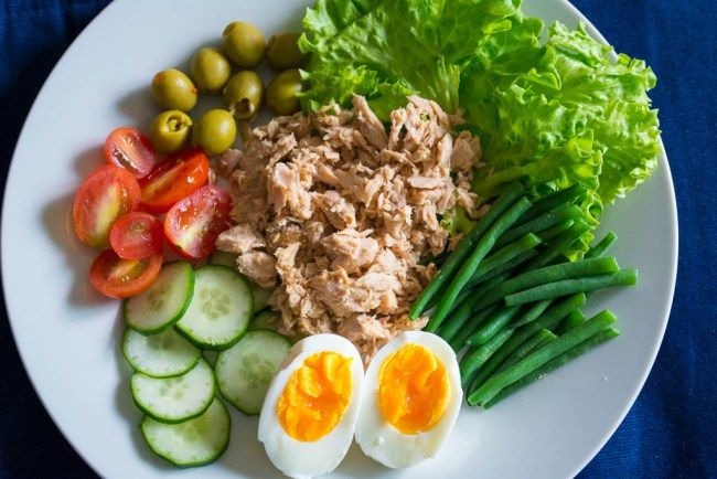 Great Nicoise Salad Recipe, ideal for 4 hour Body diet or those on a regular diet to lose weight
