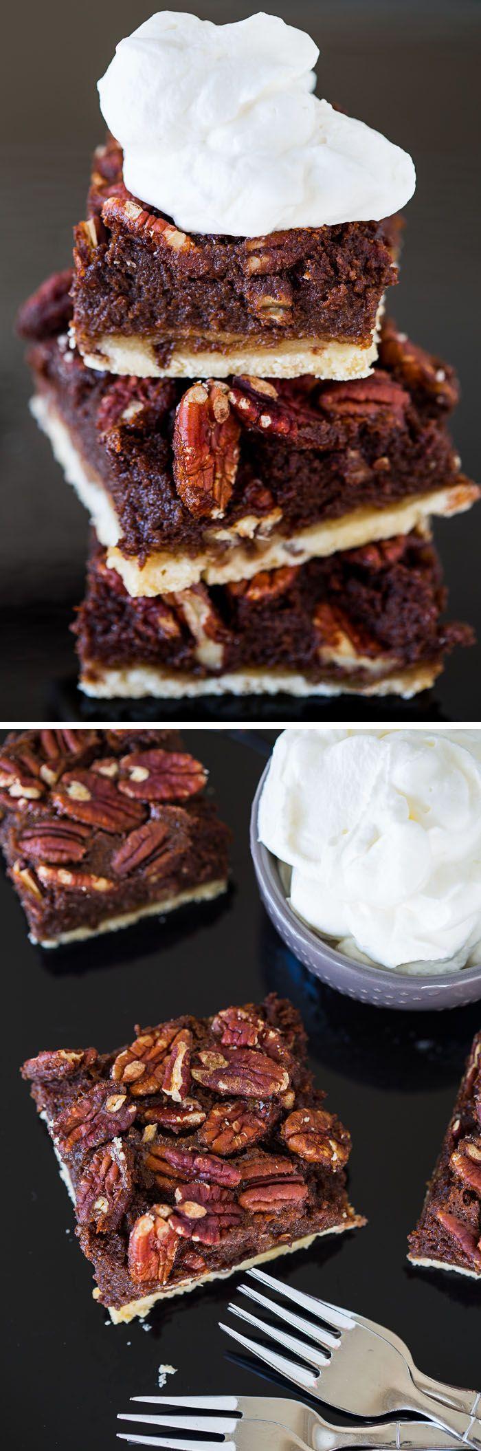 ... Pecan Pie Bars | Recipe | Chocolate Pecan Pies, Pecan Pie Bars and Pie