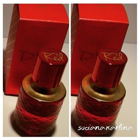 Oriflame My Red eau de parfum.