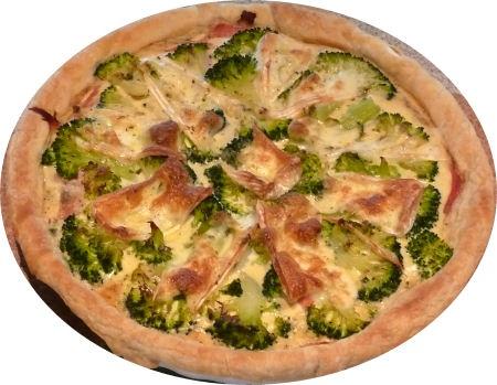Tante Loe: Roomkaastaart-ham-broccoli