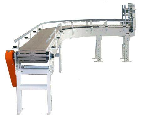 Tabletop Chain Curve Conveyor