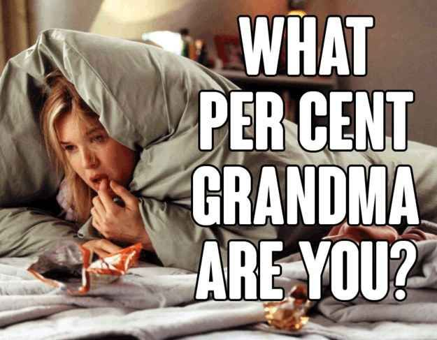 What Is Your Grandma Percentage