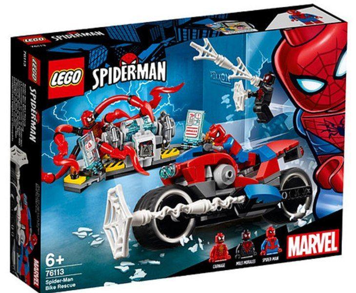 2019 Spider Man Lego Set Official Images Spiderman Marvel Legos