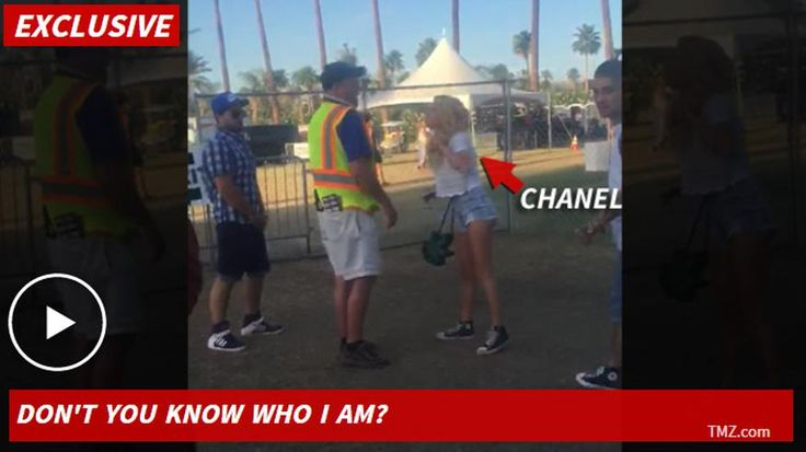 """Chanel West Coast pulled a Justin Bieber at Coachella -- minus the chokehold -- and flipped out on camera when security guards turned her away from a VIP area. According to our sources, the rapper and \""""Ridiculousness\"""" star was with her boyfriend and another friend Saturday when they tried to get into the \""""artist\'s entrance\"""" area, which of course requires a special wristband. Problem was ... she had the wristband, her boyfriend had the wristband, but the friend did not. Security…"""