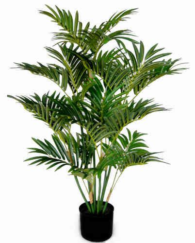 Arekapalme 100cm im Topf DA künstliche Palme Palmen Kunstpalmen Areca Kunstpflanzen