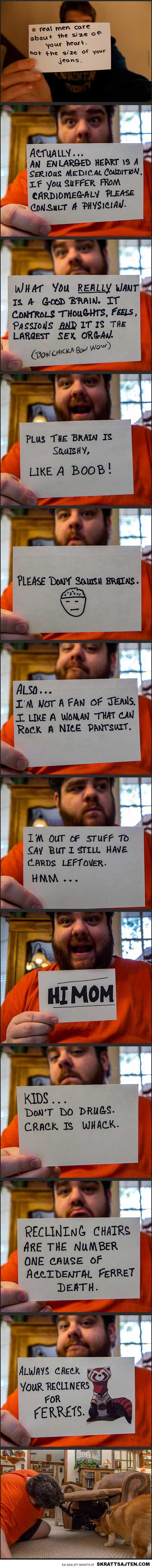 Notecard Wisdom