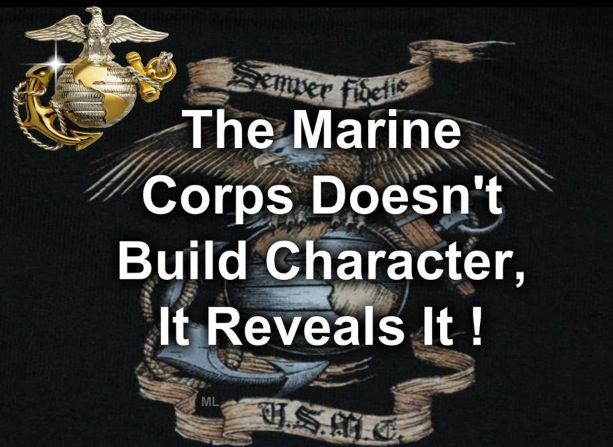 Great Marine quote …