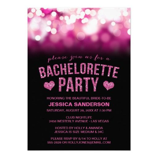 Party lights bachelorette party invite we provide you all shopping