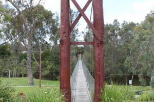 Pinjarra Suspension Bridge
