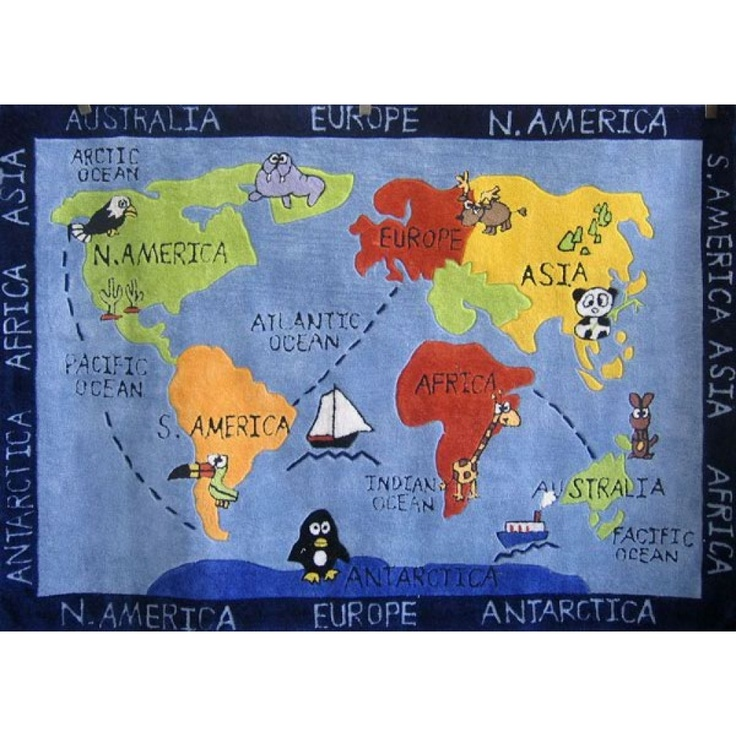 24 best kids rugs images on pinterest kids rugs nursery rugs and kids rugs world map gumiabroncs Gallery
