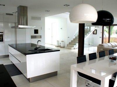 Minimalist style villa, private pool, barbecue, Playa de Palma, Palma de Mallorca, Spain