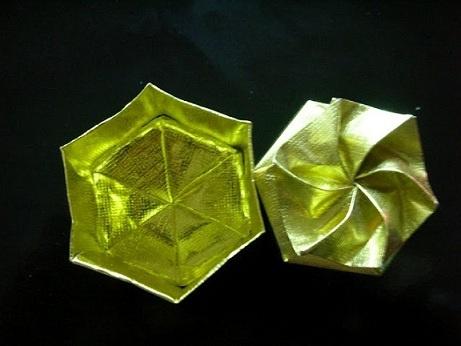 Origami Box - Hexagon Twist