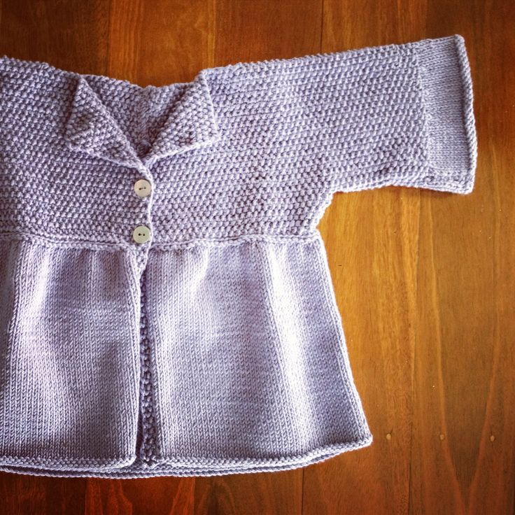 Debbie Bliss, eco-cotton, baby jacket