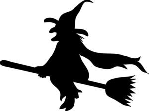 witch silhouette   Witch Clip Art Images Wicked Witch Stock Photos & Clipart Wicked Witch ...