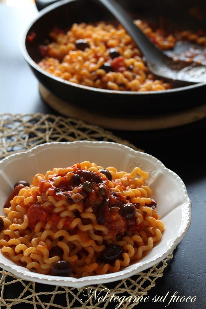 velocissima e molto gustosa. Ecco i trucchi per renderla perfetta!  #pasta #olive