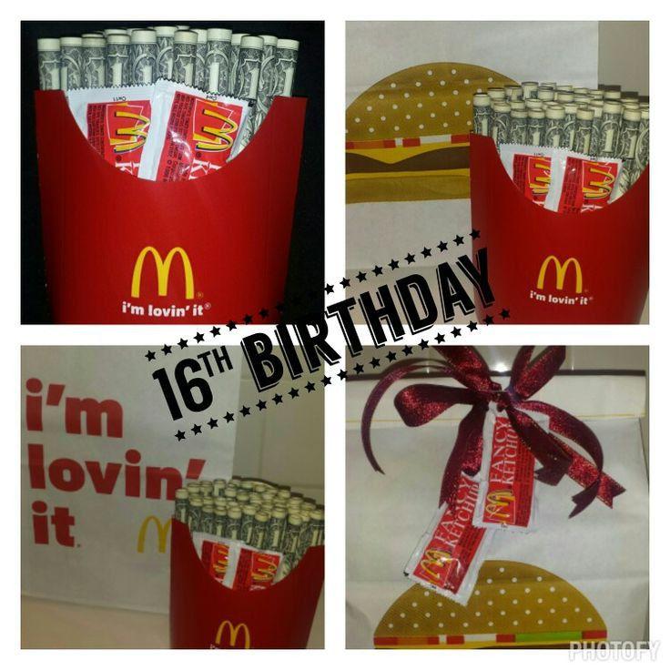16 Year Old Boy Birthday Gift Ideas 16th Birthday Gift For A Boy 50 Cash In 2020 Birthday Gifts For Boys Birthday Gifts For Teens Diy Christmas Gifts For Friends