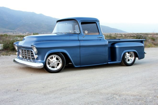 Mike Holguin's 1955 Chevy Truck took five years to complete and after waiting so long, driving it still feels like a dream.
