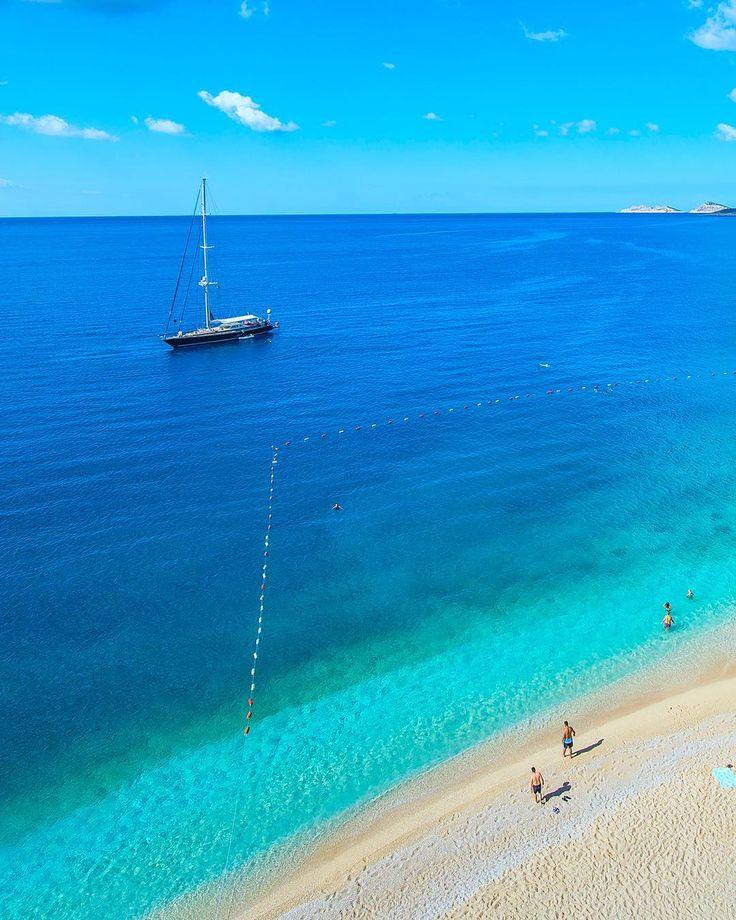 Kaputas beach #Kalkan #kas #Antalya #Turkey // Photography by Said Sargın (@said_sargin) | Instagram photo