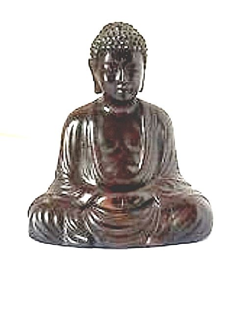 Asian Antiques Gentle Vintage Hand Carved Buddha Statue Unknown