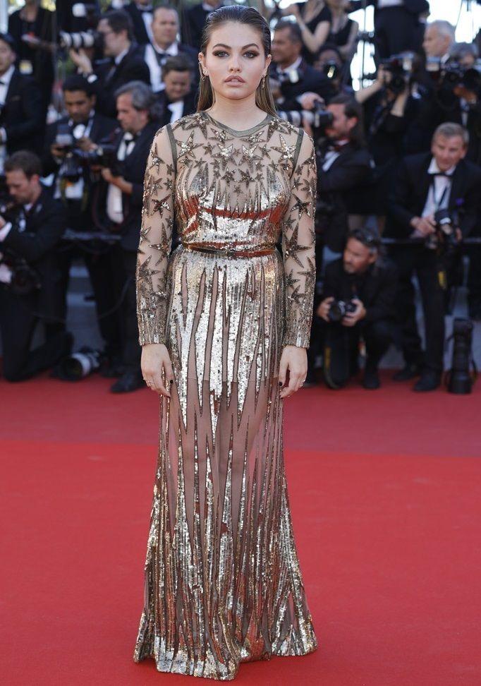 Thylane Blondeau Cannes 2017, Тилан Блондо Каннский кинофестиваль 2017