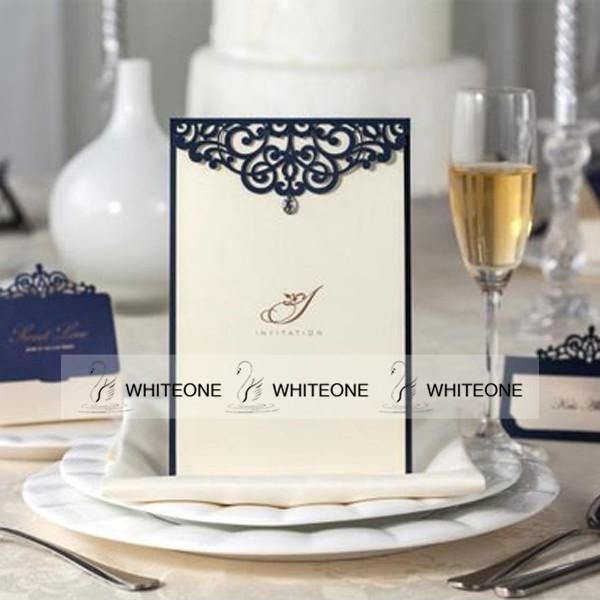 Wedding Invitations Ireland Meeting Cards Free Personalized & Customized Printing Floral Cut Out Wedding Invitations Cards Custom Party Invitation Cards Wedding Invitation Design Templates From Whiteone, $1.26  Dhgate.Com