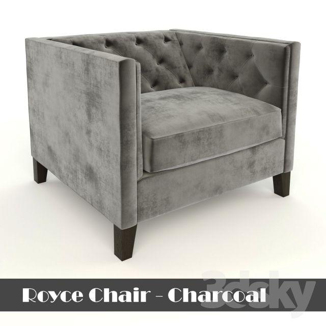 Royce Chair - Charcoal