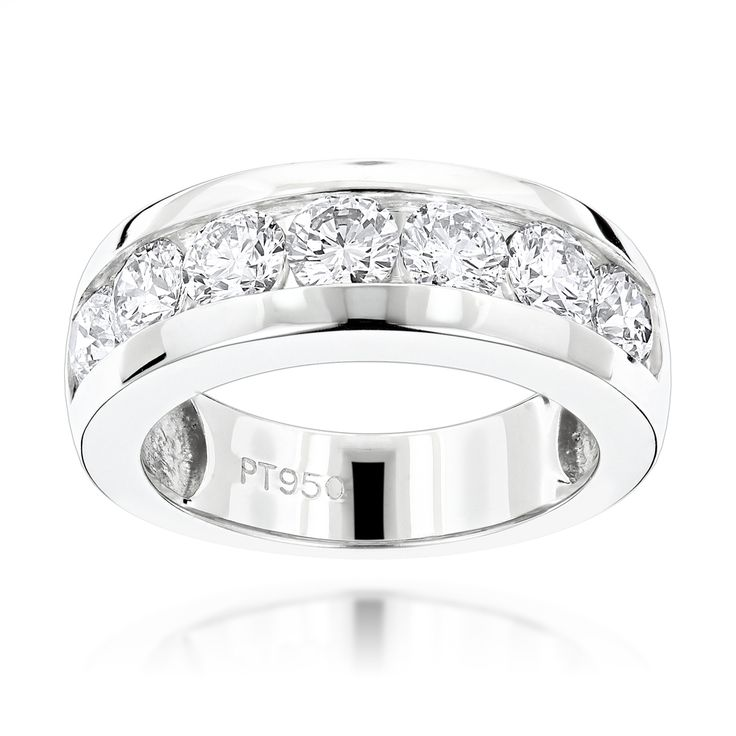 The 25 best Mens diamond wedding bands ideas on Pinterest Men