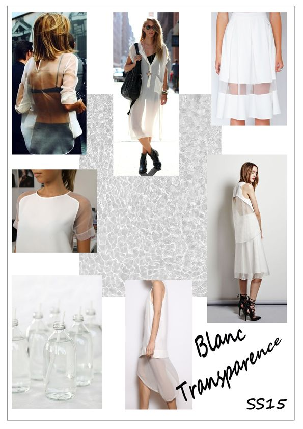 Transparence Spring/summer 2014/2015 trend