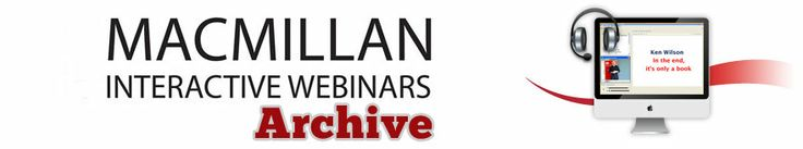 Watch recordings of live talks from some of the biggest names in English language teaching.