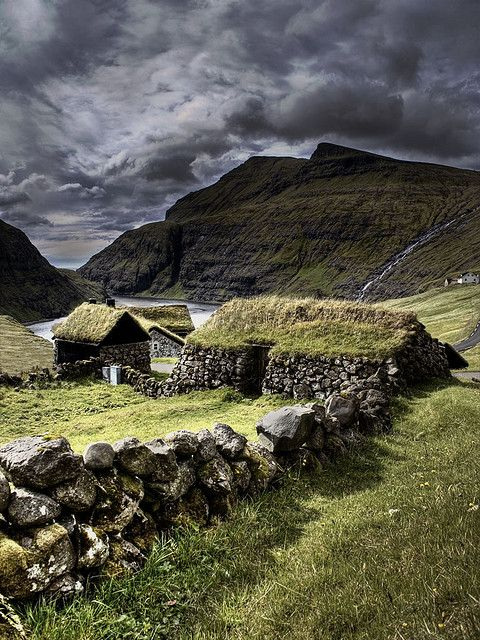 Ancient Stone House, The Faroe Islands - Imgur