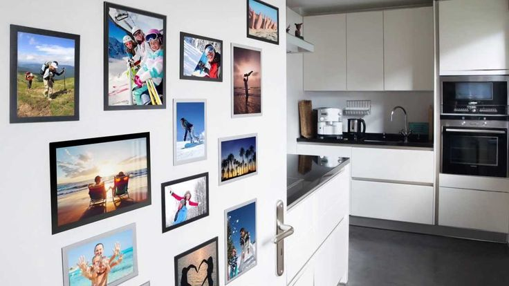 You can now display your favourite photo's anywhere you choose with the ingenious Magnetic FOTOFRAME from Durable.