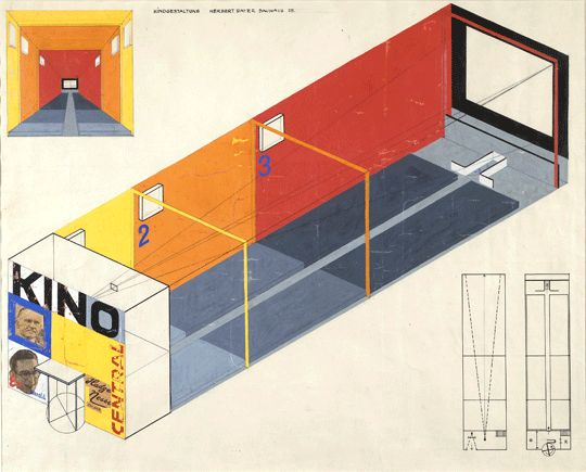 Color and The Bauhaus Bauhaus colors, Herbert bayer