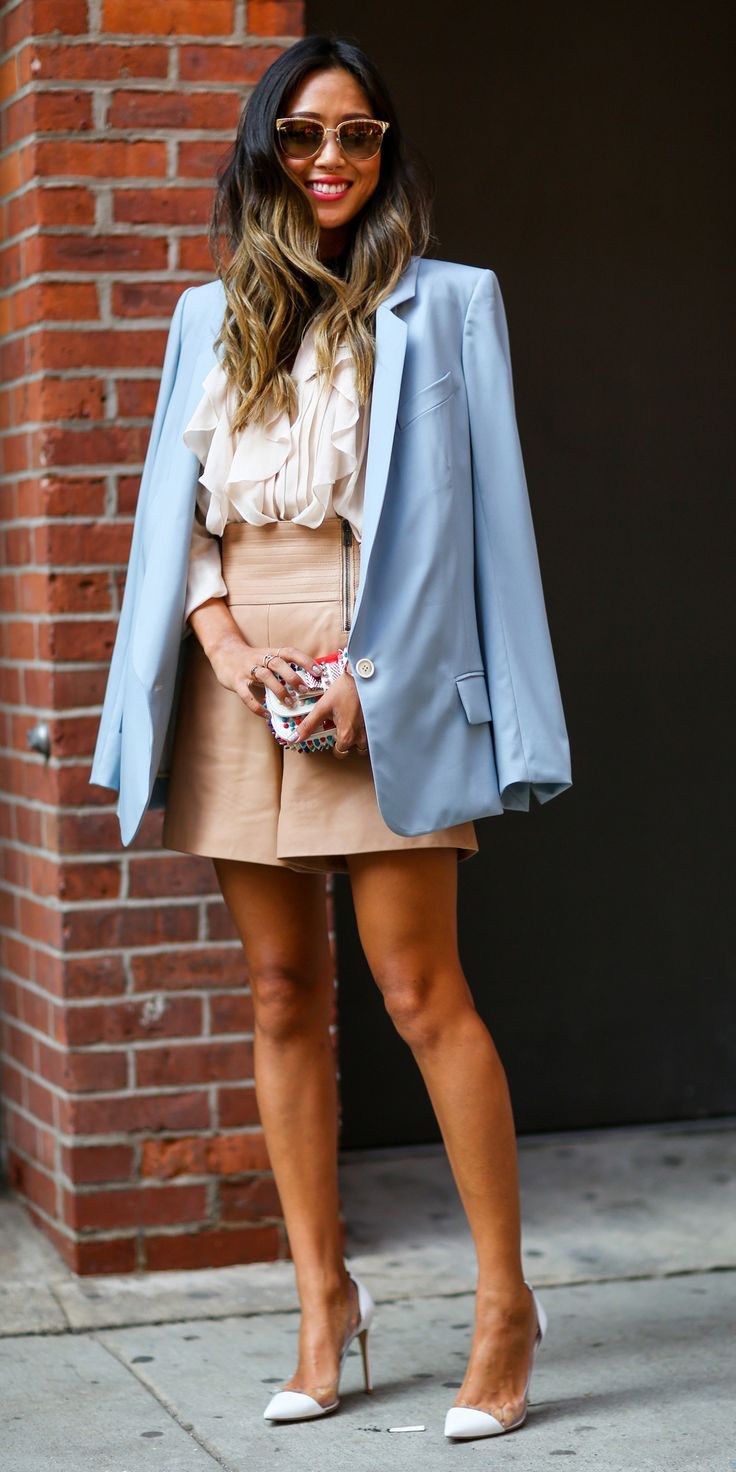 #NYFW Spring 2015 Street Style Aimee Song