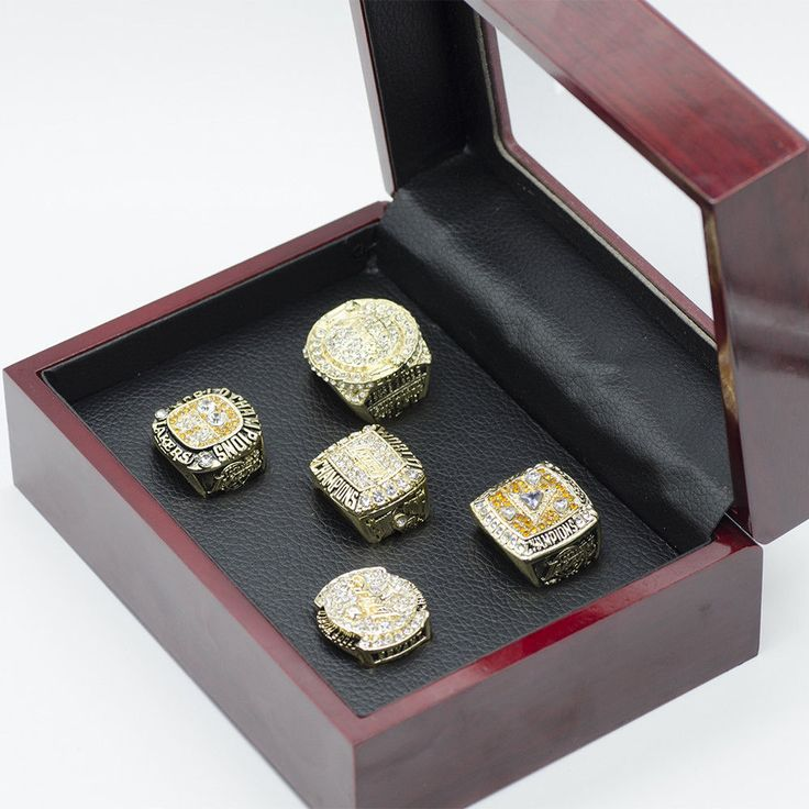 Los Angeles Lakers Football Jewelry World Chamionship Team Sports Ring Gift Box #LosAngelesLakers