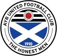 1910, Ayr United F.C. (Scotland) #AyrUnitedFC #Scotland (L17644)