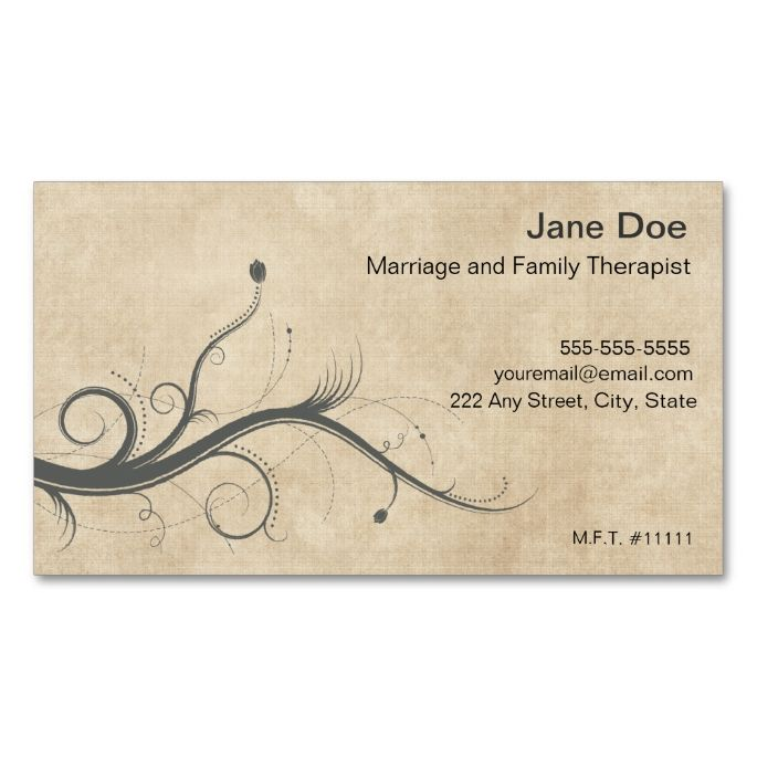 2138 best Psychology Psychologist Business Cards images on - sample appointment card template