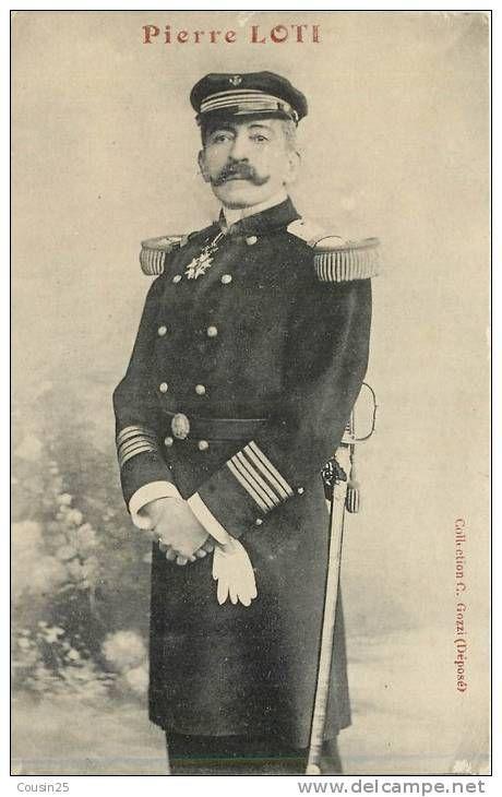 Pierre Loti (1850-1922) auteur van Pêcheur d'Islande