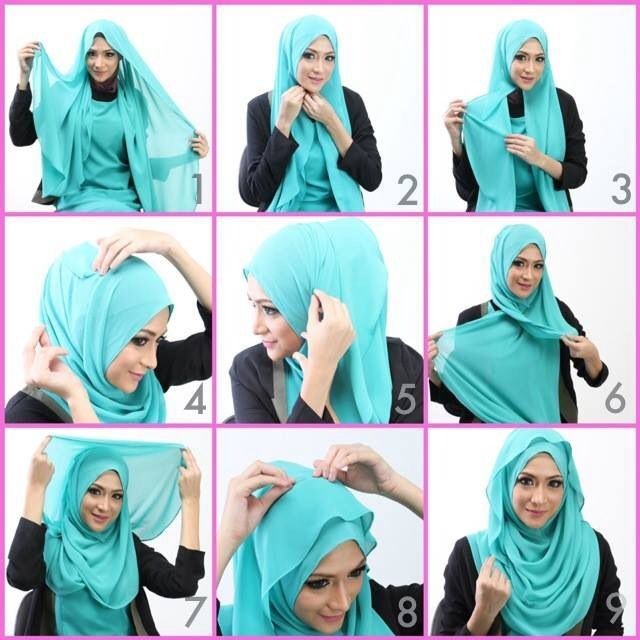 Simple & Cute Hijab Tutorial