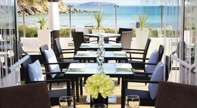 The Cove Maenporth Restaurant offer a dining experience that incorporates high quality food, a welcoming atmosphere and one of the most relaxing views you're likely to find this side of the Mediterranean #Romantic #restaurantwithaview #Falmout #UK